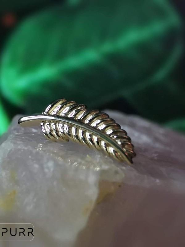 Accessoires piercing - Plume or Junipurr