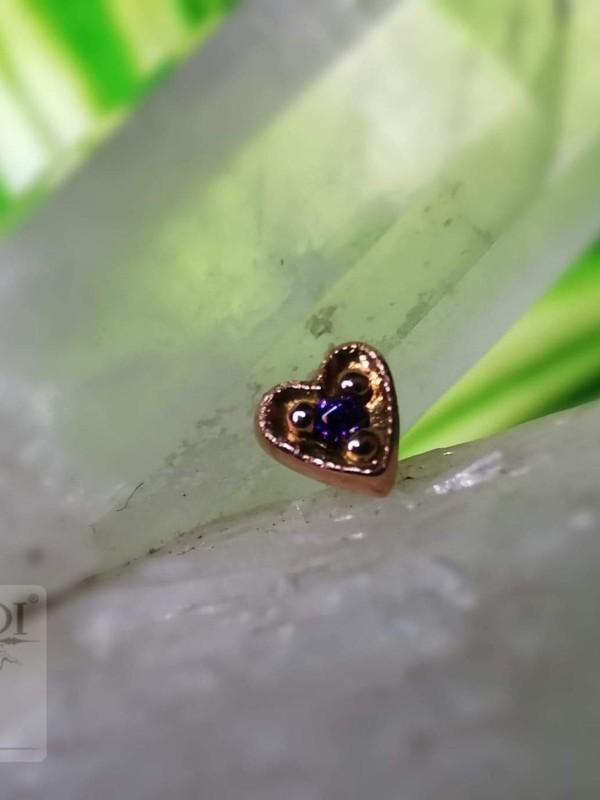 Accessoires piercing - Milgrain heart Leroi