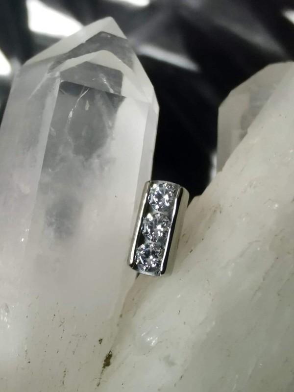 Accessoires piercing - Double milgrain Leroi